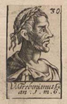 V. Trebonianus. G.