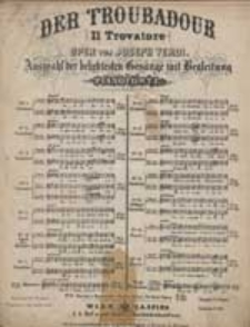 Miserere : [z] Der Troubadur : Oper von Joseph Verdi : No.15