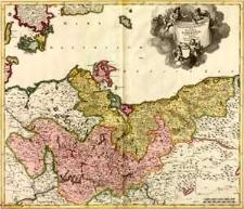 Marchionatus et Electoratus Brandeburgicus una et Ducatus Pomeraniae: in suas subdivisi ditiones