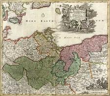 Tabula Marchionatus Brandenburgici et Ducatus Pomeraniae quae sunt Pars Septentrionalis Circuli Saxoniae Superioris novissime edita