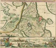 Prospect, Grundris und Gegent der Königl. Schwed. Vestung Stralsund, wie solche den 15. Julij A. 1715 von den Nordischen Hohen Allijrten ist belagert worden