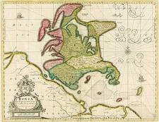 Rugia Insula ac Ducatus accuratissime descripta ab E. Lubino