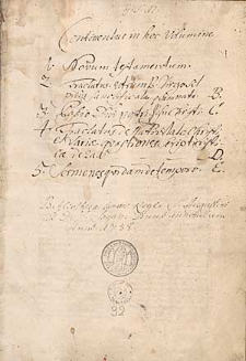 Biblia - Novum Testamentum cum prologis
