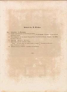 Architektonisches Skizzenbuch, 1854, Heft X, Blatt 1-6