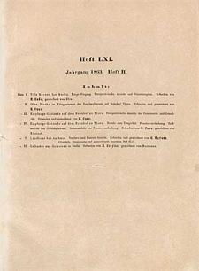 Architektonisches Skizzenbuch, 1863, Heft (II) LXI, Blatt 1-6