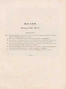 Architektonisches Skizzenbuch, 1863, Heft (V) LXIV, Blatt 1-6