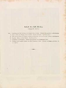 Architektonisches Skizzenbuch, 1861, Heft LII, Blatt 1-6