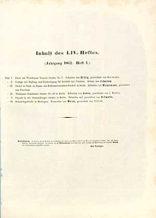 Architektonisches Skizzenbuch, 1862, Heft LIV, Blatt 1-6
