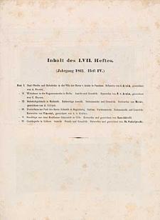 Architektonisches Skizzenbuch, 1862, Heft LVII, Blatt 1-6