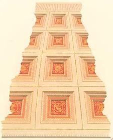 Architektonisches Skizzenbuch, 1868, Heft (VI) XCIV, Blatt 1-6
