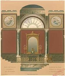 Architektonisches Skizzenbuch, 1869, Heft (I) XCV, Blatt 1-6