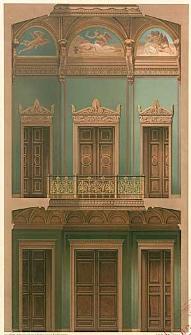 Architektonisches Skizzenbuch, 1870, Heft I, Blatt 1-6