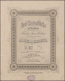 Drei Clavierstücke in Tanzform [...] Op. 17. Heft 1. Polonaise