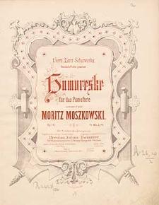 Humoreske : für das Pianoforte : Op. 14.