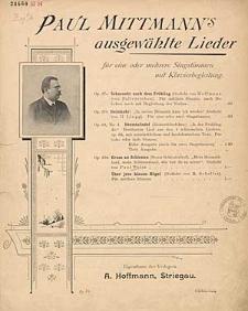Heemte-Liedel = Heimathliedchen [z cyklu:] Paul Mittmann's ausgewählte Lieder : für eine oder mehrere Singstimmen mit Klavierbegleitung : Op. 63. No. 4