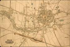Stadt-Plan von Reichenbach : Schlesien