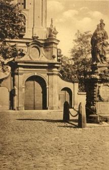 Breslau. Hauptportal der Mauritiuskirche