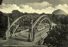 Breslau. Passbrücke mit Jahrhunderthalle