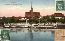 Breslau. Kreuzkirche mit Fürstbischöfl. Palais.