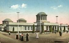 Ausstellung zur Jahrhundertfeier der Freiheitskriege Breslau 1913. Historische Ausstellung. Erbauer Professor Poelzig.