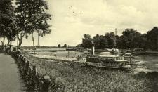 Blick von Wilhelmshafen auf das Nadelwehr.