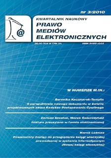 Powszechny dostęp do przeglądania księgi wieczystej prowadzonej w systemie informatycznym (Nowej księgi wieczystej)