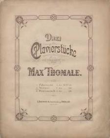 Walzer C dur [z cyklu:] Drei Clavierstücke