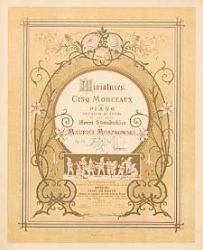 Miniatures : cinq morceaux pour piano : Op. 28, No. 5