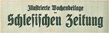 Illustrierte Wochenbeilage der Schlesischen Zeitung 1927-01-01 Nr 1