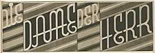 Die Dame Der Herr. Sonderbeilage der Schlesischen Zeitung 1928-09-29