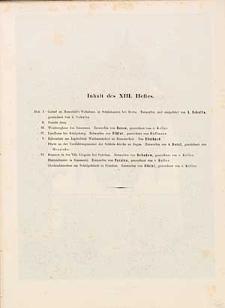 Architektonisches Skizzenbuch, 1854, Heft XIII, Blatt 1-6