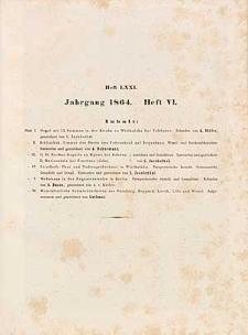 Architektonisches Skizzenbuch, 1864, Heft (VI) LXXI, Blatt 1-6