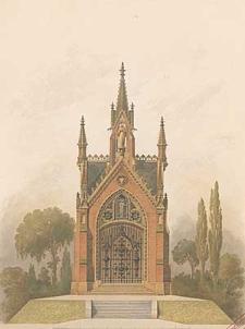 Architektonisches Skizzenbuch, 1875, Heft (VI) CXXXV, Blatt 1-4, 6