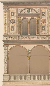 Architektonisches Skizzenbuch, 1879, Heft (VI) CLIX, Blatt 1-6