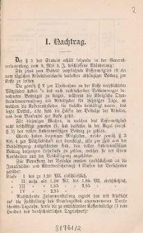Satzungen der Betriebs-Krankenkasse der königlichen Wasserbau-Inspektion zu Breslau