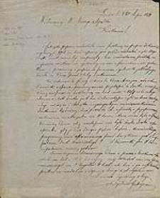 [List Władysława Gubrynowicza do Władysława Anczyca, Lwów 18 lipca 1879].