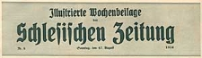Illustrierte Wochenbeilage der Schlesischen Zeitung 1924-08-10 Nr 4
