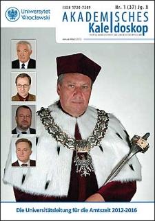 Akademisches Kaleidoskop Jg. 10 Nr 1 (37) Januar - März 2012