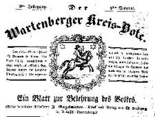 Wartenberger Kreisbote 1848-10-25 Jg.1 Nr 4