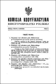 Komisja Kodyfikacyjna Rzeczypospolitej Polskiej. Sekcja Prawa Karnego. T. 2
