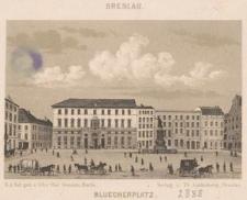 Breslau. Bluecherplatz.