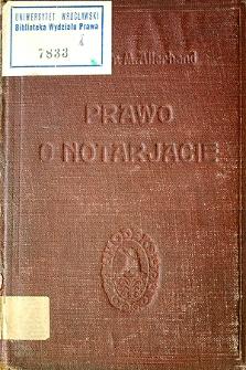 Prawo o notarjacie