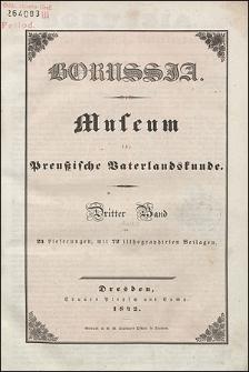 Borussia. Museum für Preußische Vaterlandskunde Bd. 3 (1842), Lief. 3