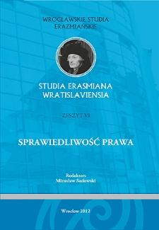 Hieronim Stroynowski i Feliks Słotwiński – dwa sposoby postrzegania sprawiedliwości w prawie narodów na przełomie XVIIIi XIX wieku