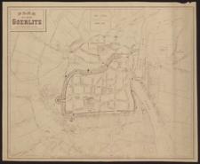Plan der Stadt Goerlitz