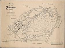 Plan der Stadt Steinau a.d. Oder