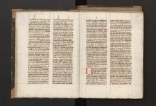 Sententiarum libri III (fragmentum) ; Expositio psalmorum ; Expositio canticorum vet. et novi testamenti