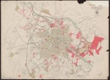 Plan der Königlichen Haupt- und Residenz-Stadt Breslau mit den angrenzenden Vororten