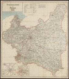 Strassenzustand in Polen 1939