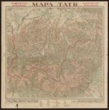 Karpowicza specjalna mapa Tatr